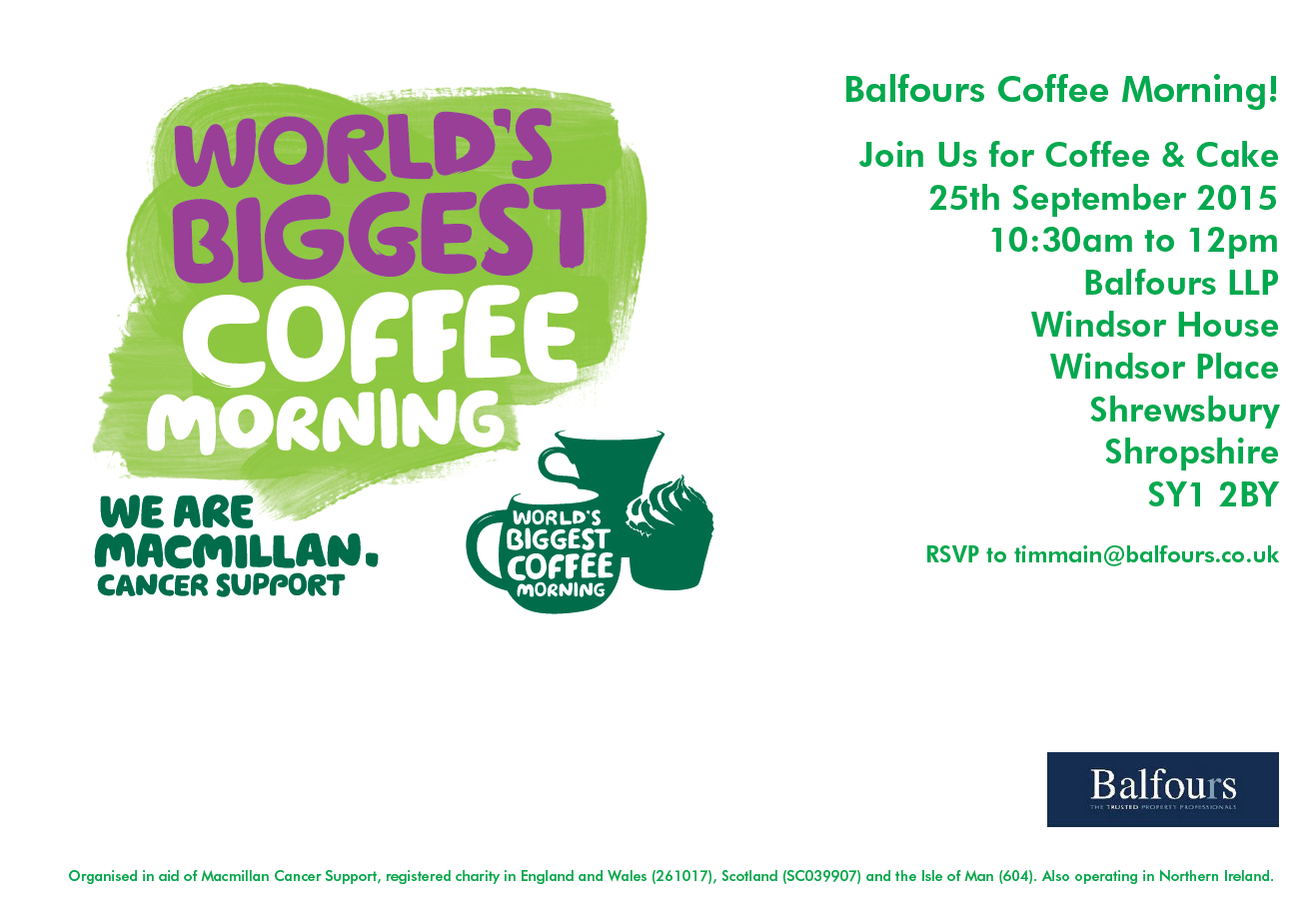 Coffee Morning 2015