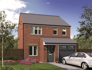 A Crisp Finish To New Three Bedroom Homes