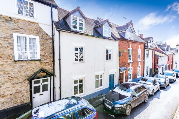 Ludlow centre - location and open plan living