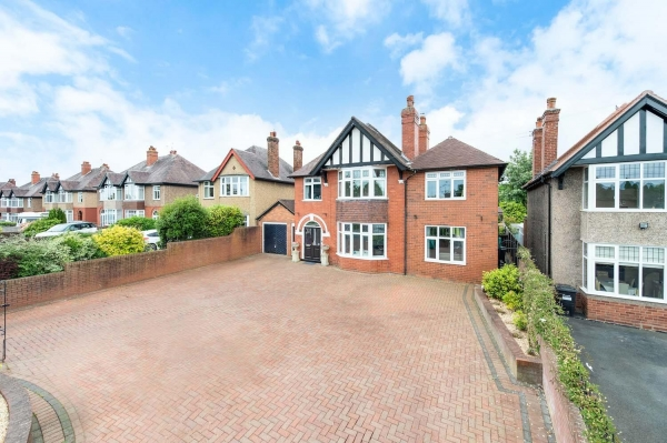 Popular location with visionary home