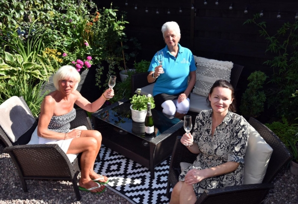 Shrewsbury garden wins Tanners cache