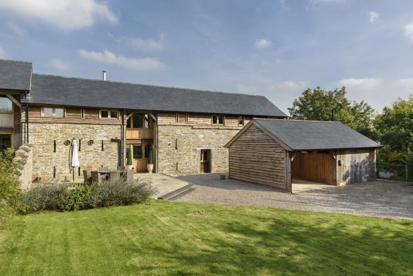 Grade II listed barn, A* conversion