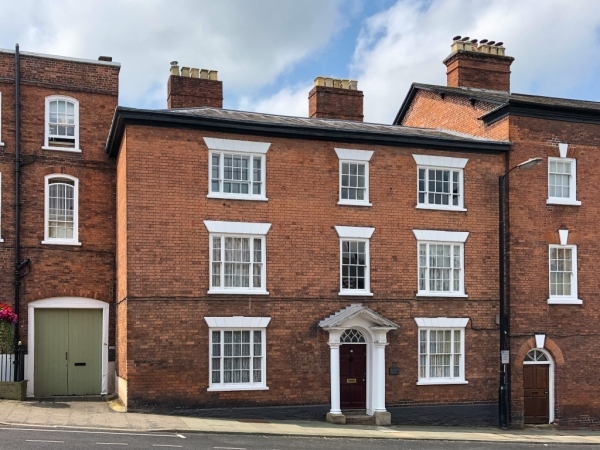 Classic Georgian Town House For Sale In Ludlow