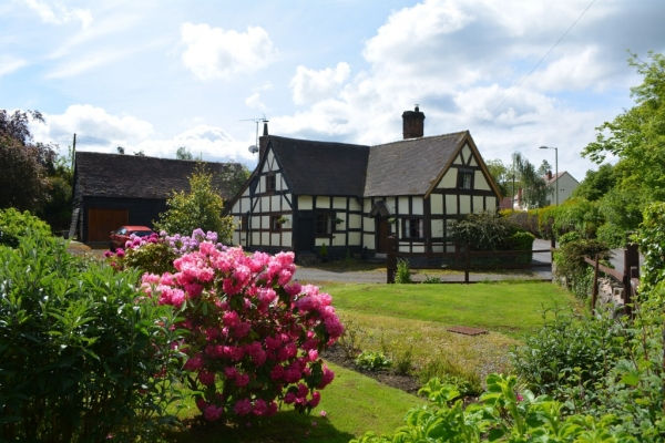 Timber framed character in heart of village