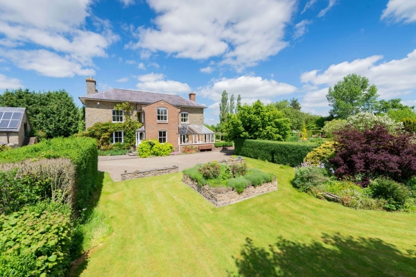 Handsome period home on Shropshire Hereford border