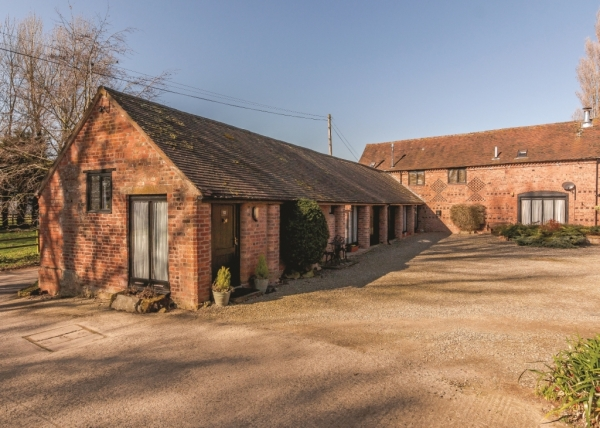 Spacious Barn Conversion For Sale In Shropshire