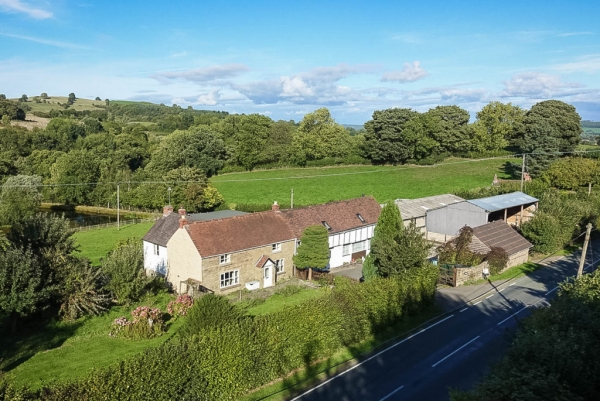 Farmhouse With Annex And Land For Sale In The Shropshire Hills